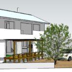 《パッシブスタンダード》プロトタイプ 3 x 5 「牟礼岡の家」